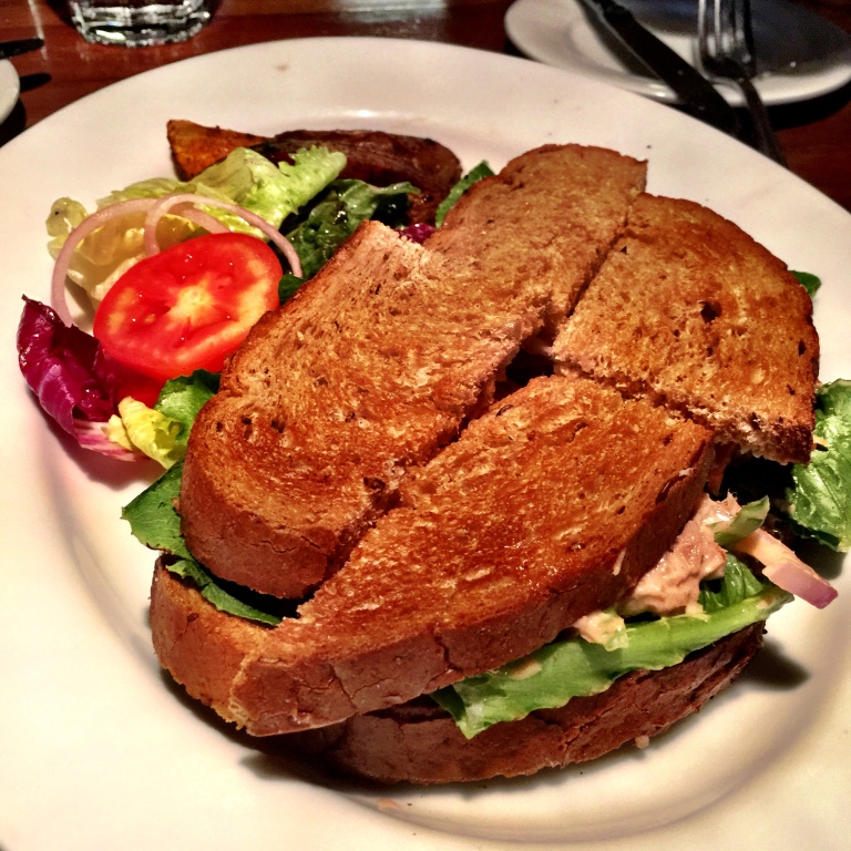 This Creamy Tuna Salad sandwich was the Robin to the Batman that were the other fish dishes.