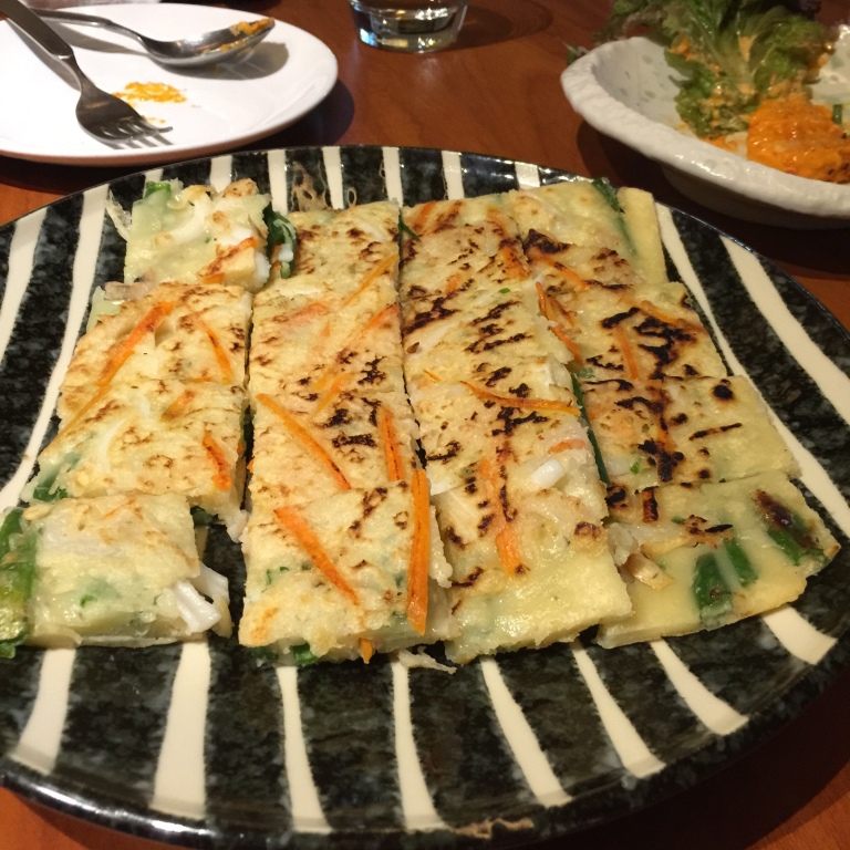 Turn to (Haemul) Pajeon of our litany of issues