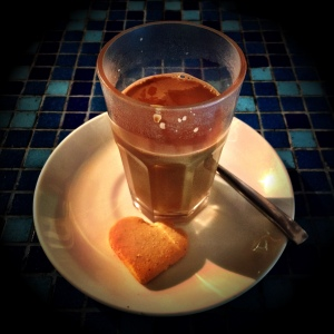 Perefectly forgettable Masala Chai. Lovely little biscuit that came with it though!