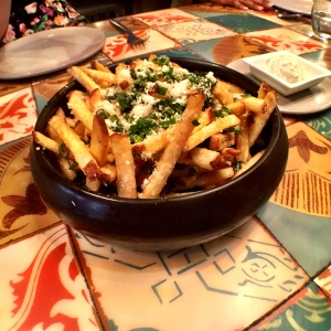 The Truffle Fries, but no happy toy for me. Shame,
