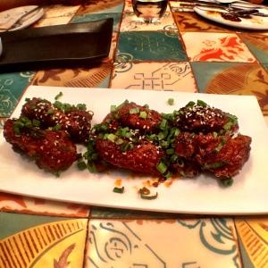 The sticky, crispy, fantastic Buffalo Wings