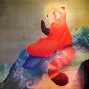 Master Shifu incarnate at Fatty Bao Mumbai