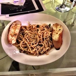 The simplistic Spaghetti Aglio Olio
