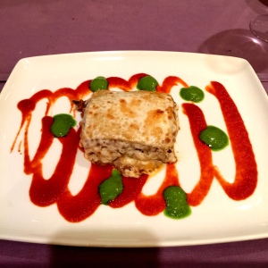 The hearty, rustic and lovely Lamb Lasagna