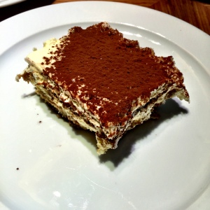 Tiramisu is food of the gods, and this showed exactly why