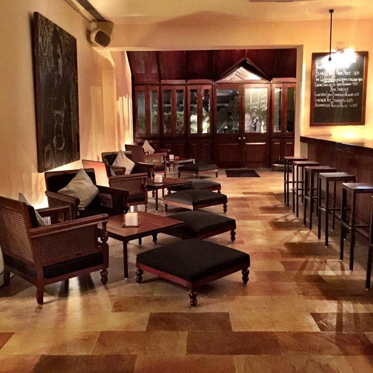 The elegant interiors at Indigo